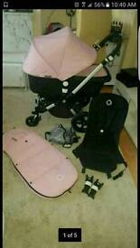Bugaboo cameleon 3 ( 6 months old 5 charness straps)