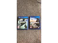 Tom Clancy's Ghost Recon Wildlands And Call Of Duty Infinite Warfare PS4