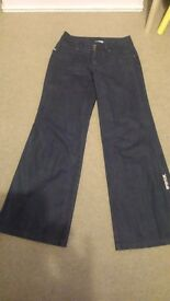 Ripcurl girl wide leg trousers size 38 waist