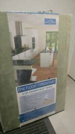 Fine floor fibreboard