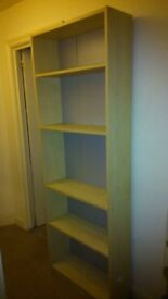 Bookshelf for sale at £10 - 5 shelves