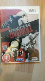 The House of the Dead Overkill Wii game