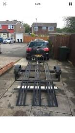 3 bike trailer, motocross, trials, track, off road bike trailer