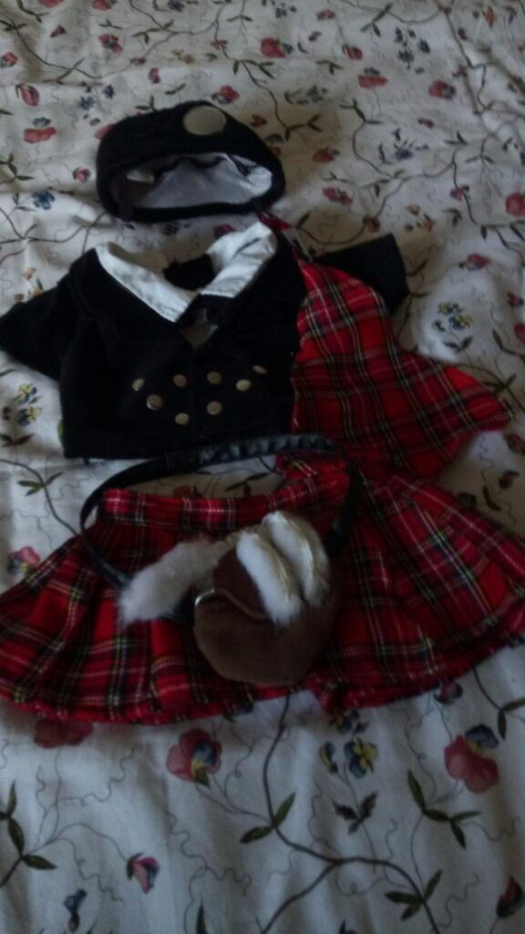Build a Bear Kilt Outfit