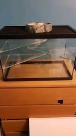 Glass vivarium 60x45x45
