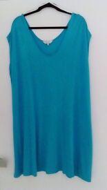 EAST sleeveless dresses One size upto 22