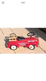 Great gizmos ride on fire truck