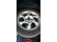 Honda 15in alloy wheels x4