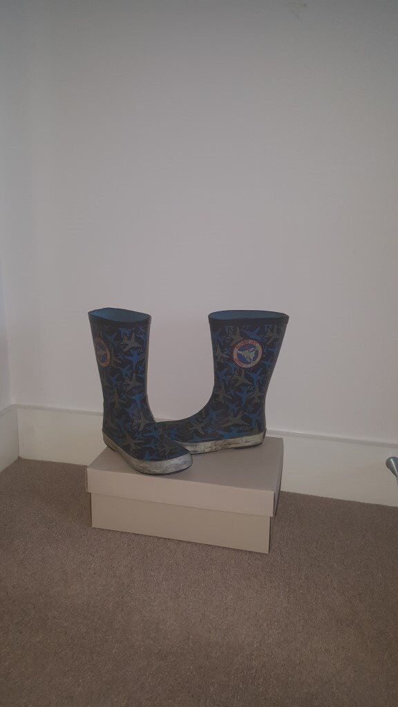 Boy's wellies from Clarks, size 10 UK