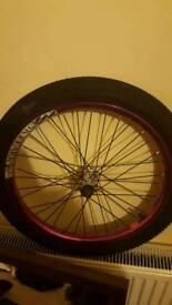 Bmx front wheel