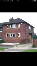 2 Bedroom end house , S9 , Littledale , to rent