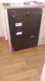 Swan A+Class Black Dishwasher in good condition £85