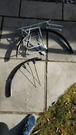 Dirtmonkey Mudguards and rear bike rack