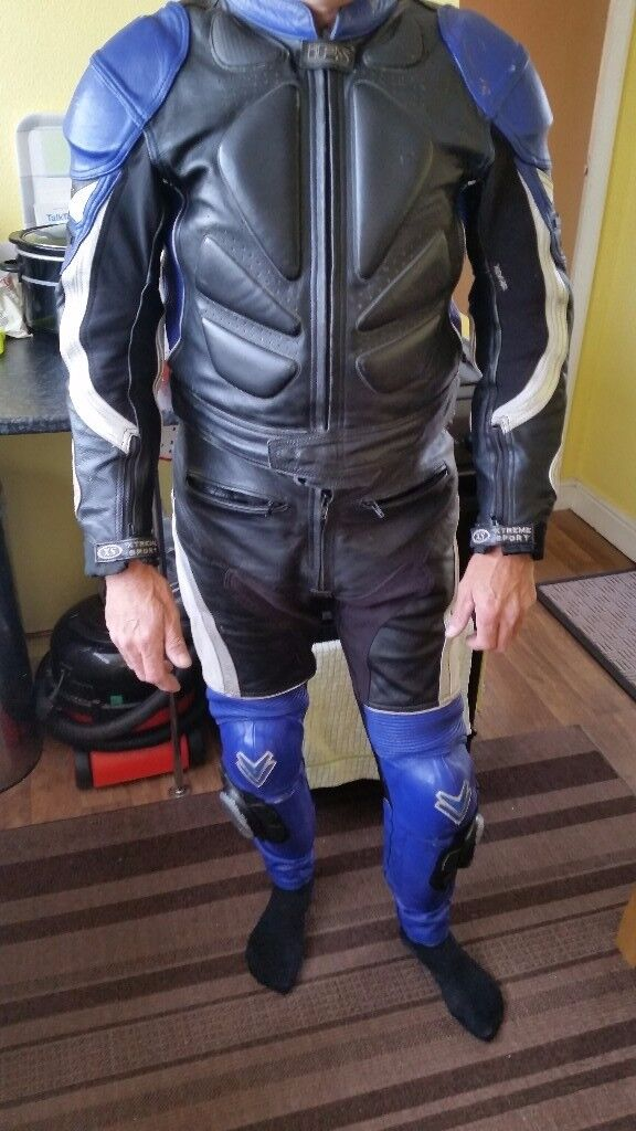 frank thomas 2 peice race leathers