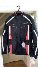 Motorbike jacket SPARTAN brand new with tag XL