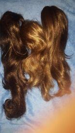 3 ponytail wigs