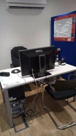 PROFESSIONAL DESK SPACE TO RENT IN NORTH LONDON NEAR HIGHBURY AND ISLINGTON STATION