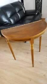 Vintage attractive table