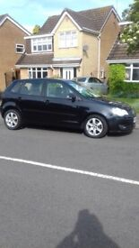 Metallic Black Volkswagen Polo Sport TDi 2008 - excellent condition. 1 lady owner