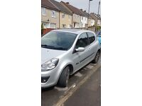 PRIVATE PLATE Renault clio 1.5 DCI spares or repairs
