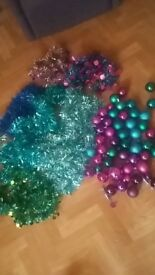 tinsels and baubles