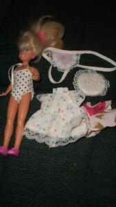 Barbie's sister, Skipper, with outfits + bed London Ontario image 1