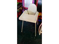 Ikea childrens high chair