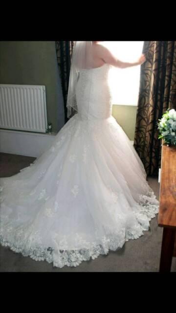 Maggie Sottero Marianne Size 18 Wedding Dress In Derby Derbyshire Gumtree