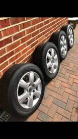 "VW Transporter 15"" Alloy Wheels"