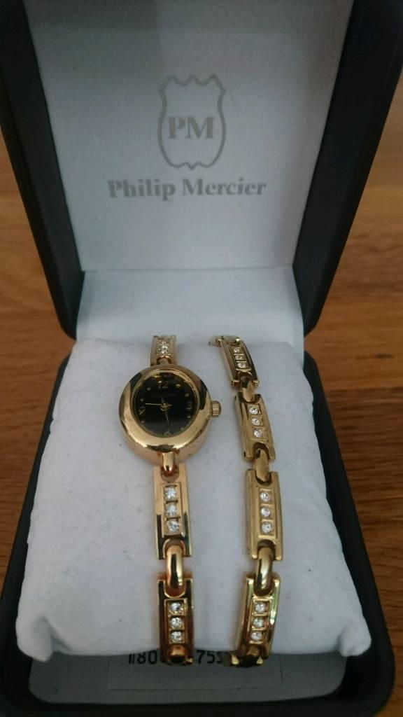 857baaef3 Ladies Philip Mercier Watch and Bracelet set   in Pontefract, West ...