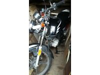 jianshe 125 for sale runs nd rides but needs tlc hench the cheap price
