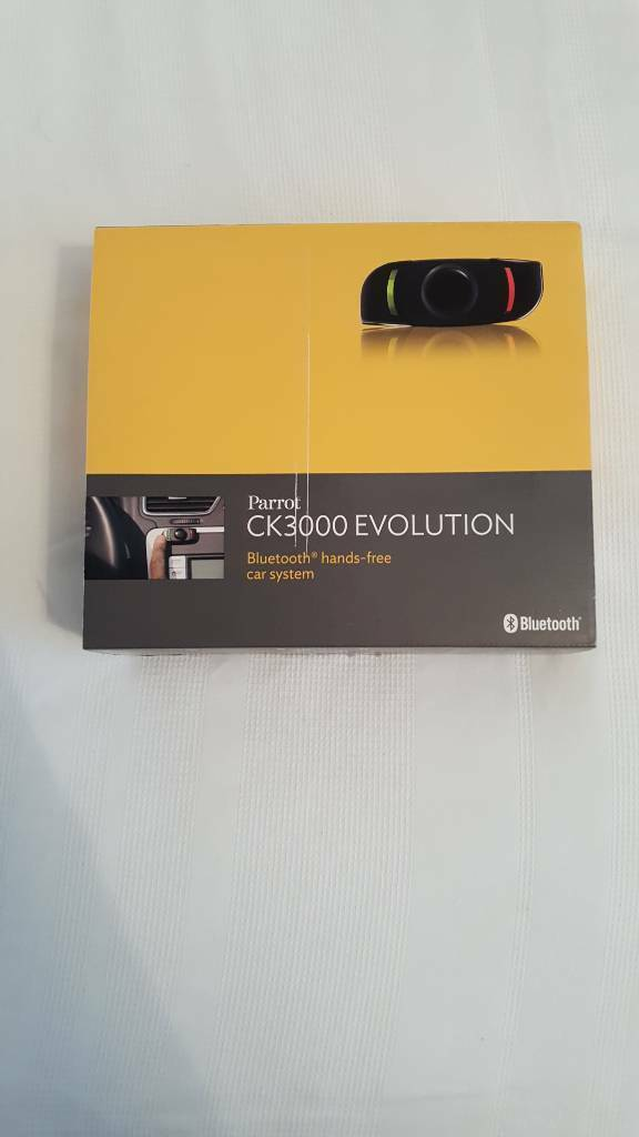 Parrot CK3000 Evolution Bluetooth Hands-free In-car System