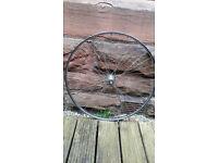 """Steel wheels, 27"""" 1 1/4"""""""