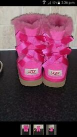Kids ugg boots size 10 (new)