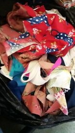 Bag of small fabric scraps (available regularly or one off)