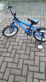 """Kids Ridgeback 16"""" Bike in Blue"""