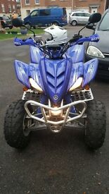 Yamaha Raptor road legal quad in superb condition