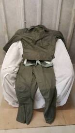 Cold weather flying suit