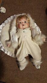 Leonardo collection Porcelain doll