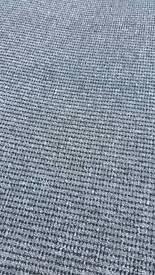 black and grey hardwearing carpet