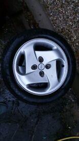 Fiat Coupe Tubro Wheels