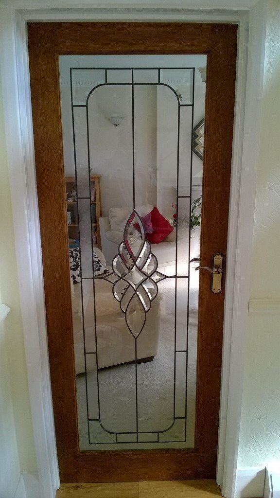 3 Internal Oakleaded Glass Doors Incl All Handleshinges 78x30 1