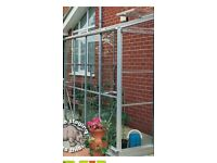 Elite 8x6 ft lean to greenhouse