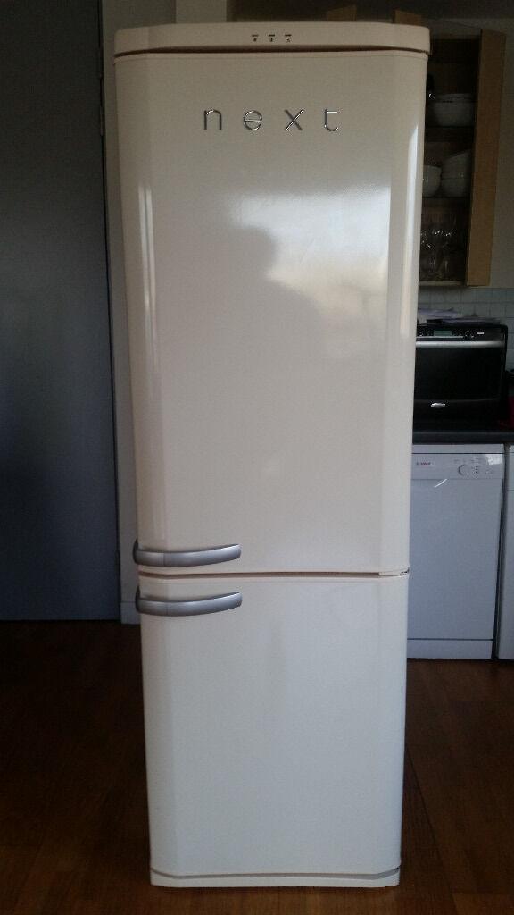 next retro50c fridge freezer in cream excellent. Black Bedroom Furniture Sets. Home Design Ideas