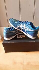 ONITSUKA TIGER PAIRS AND ASCIS ONE PAIR TRAINER USED GOOD CONDITION SIZE 10 US