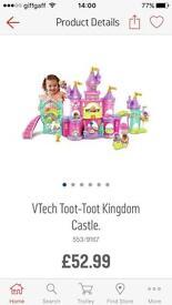 Toot toot princess castle with toot toot princess