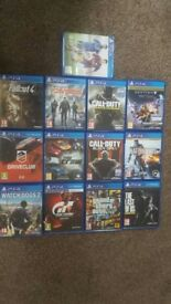 PS4 Games collection for sale