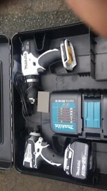 Brand new Makita drill set. Unwanted gift. Should be £300 but selling for 200 ONO