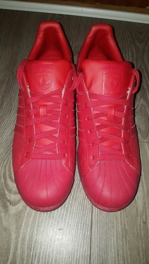 Adidas Superstar All Red