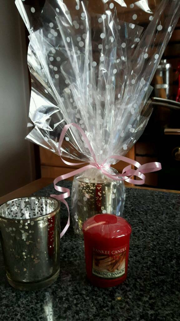 Yankee candle votive and holder